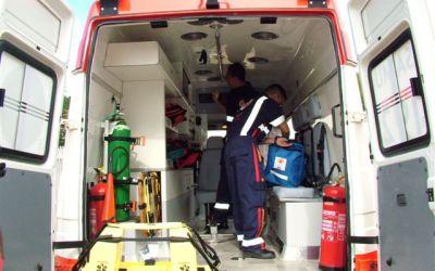 Motorista passa mal e sofre acidente em Itaúna