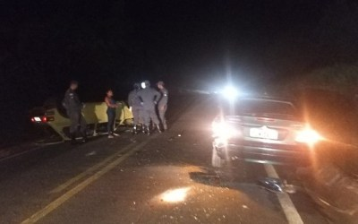 Motorista sem CNH é detido após se envolver em acidente