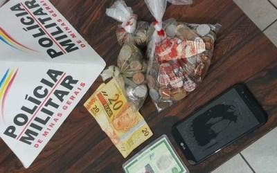 Autor de furto é preso em Itaúna