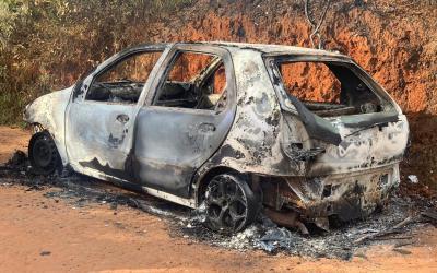 Polícia Civil prende autores que mataram homem encontrado carbonizado