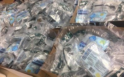 Mais de 5.000 máscaras são furtadas em Betim