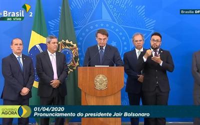 Governo anuncia pacote de R$ 200 bilhões para saúde e empregos
