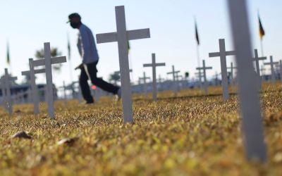 Brasil registra 1.266 mortes por Covid em 24h e passa de 199 mil