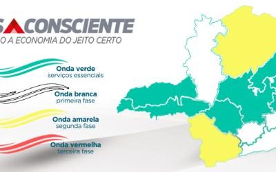 Minas Consciente: Macrorregião Oeste permanece na Onda Amarela