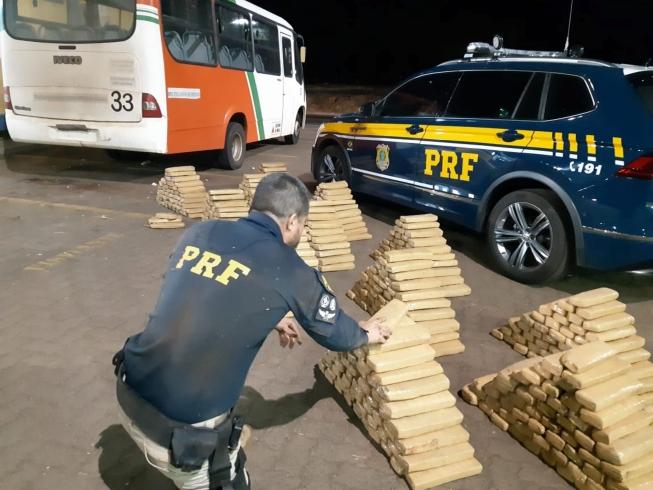 Cocaína apreendida nas rodovias federais mineiras triplica em oito meses