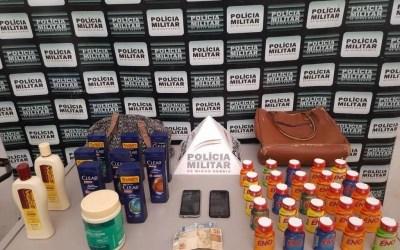 Jovens são detidas após furtarem mercadorias em farmácia