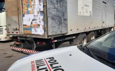 Carga roubada avaliada em 400 mil é recuperada na região