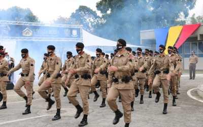 MG recebe reforço de 934 policiais militares