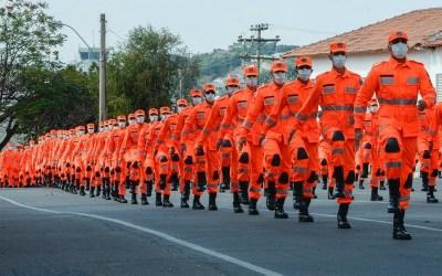 Formatura de novos soldados do Corpo de Bombeiros é realizada