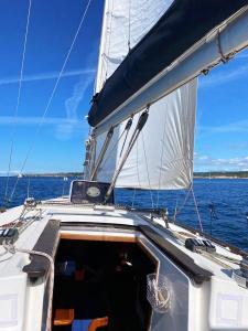 Prácticas en velero en Santander