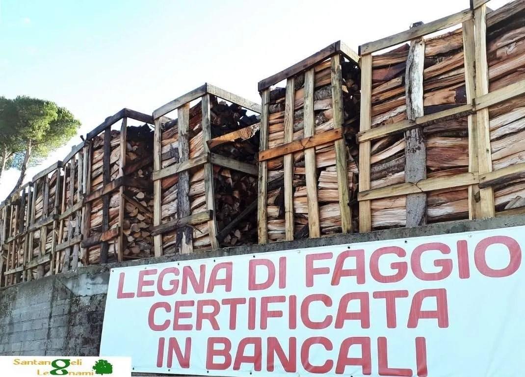 BANCALI LEGNA FAGGIO ROMA