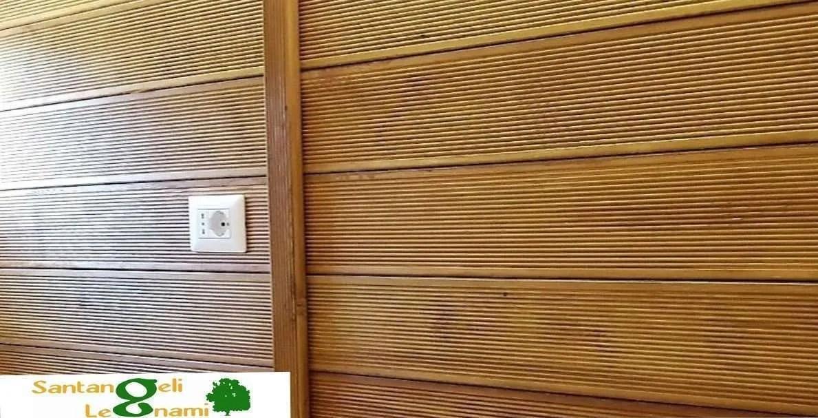 larice zigrinato decking roma -decking in legno roma - pavimento laarice zigrinato - pareti in decking e pavimenti roma