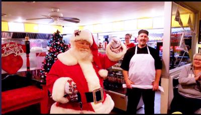 Santa Paul Hillier, Santa Claus