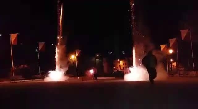 Cohetes en San Gil