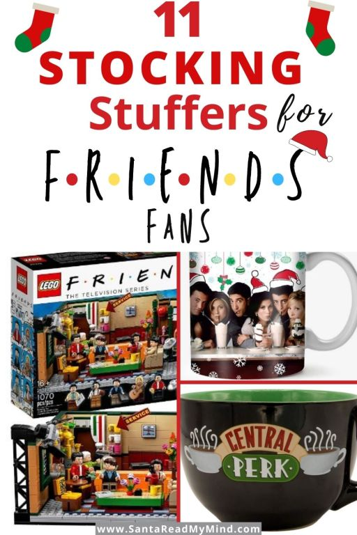 11 Stocking Stuffers for Friends Fans (What to get a Friends fan). Gifts for Friends Fans