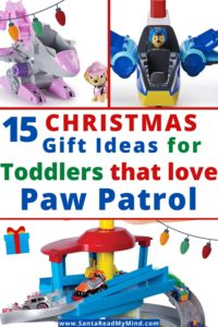 paw patrol gifts for toddlers