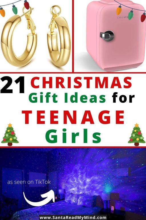21 Christmas Gift Ideas for Teenage Girls (includes ideas seen on TikTok and gift ideas popular with teen YouTubers)