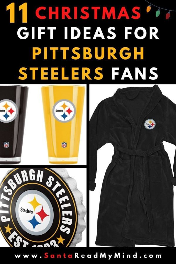 11 Christmas Gift Ideas for Pittsburgh Steelers Fans