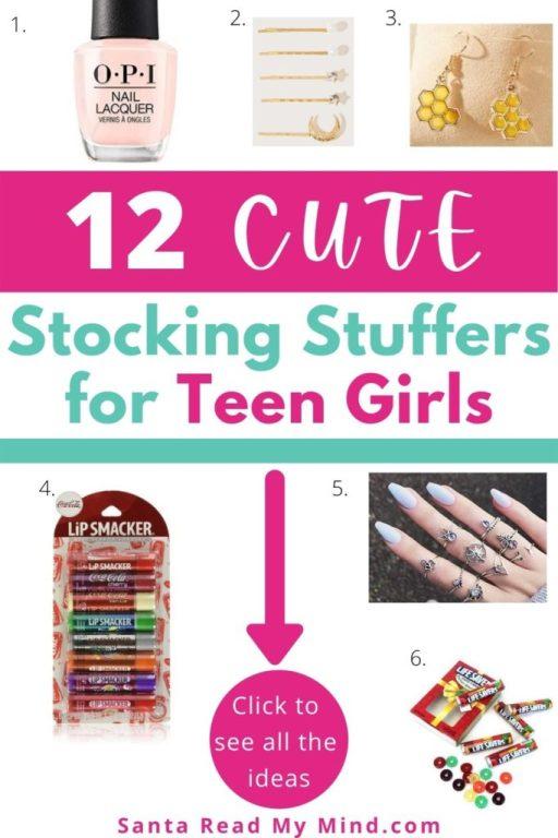 Stocking Stuffer ideas for teenage girls (gifts for teenage girls)