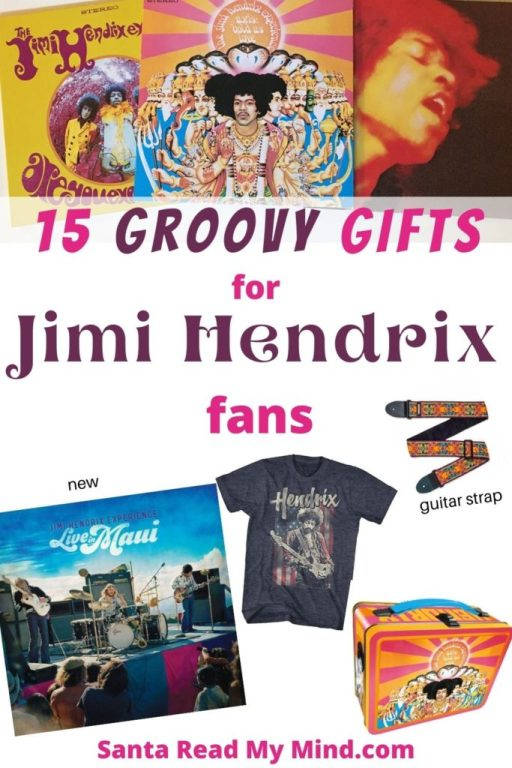 15 Groovy Gifts for Jimi Hendrix Fans