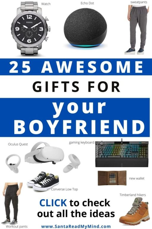 25 Thoughtful gifts for your boyfriend