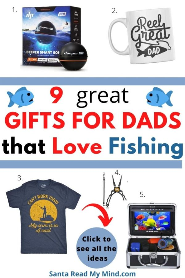 9 Great Gifts for Dads who like fishing.