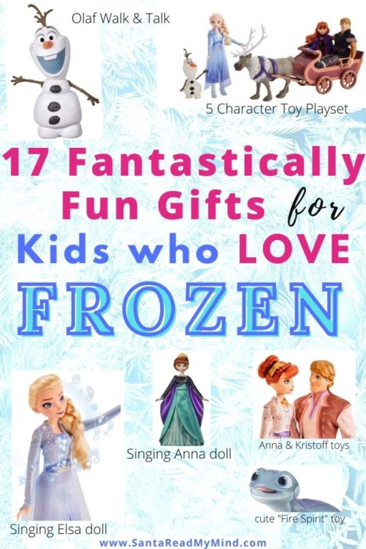 17 Gifts for Frozen Lovers kids.Pin for 17 fantastically fun gifts for Kids who love frozen.