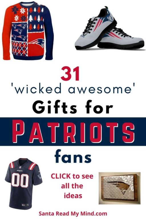 31 wicked awesome gifts for Patriots fans