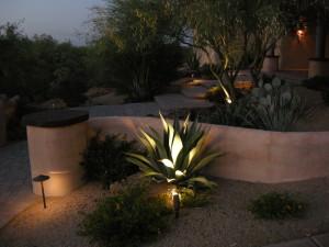 low voltage outdoor lights led vs
