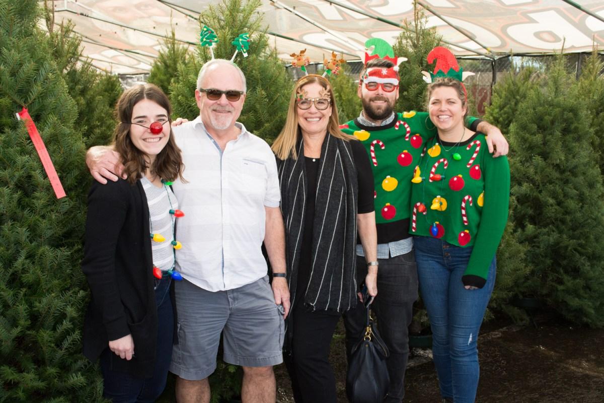 LA Christmas Tree Lot Sweaters