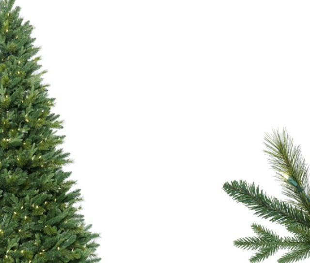 Traditional Artificial Christmas Trees