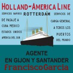 Cartel de Holland America – Line [Lámina descargable]