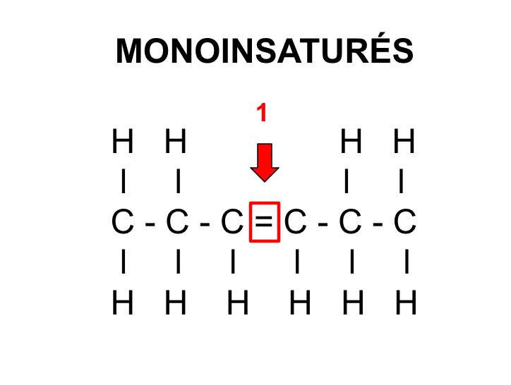 """Molécule d""""acides gras monoinsaturés - Santé d'Acier"""