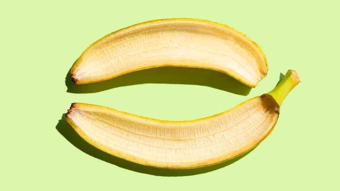 Voici comment les pelures de banane blanchissent les dents