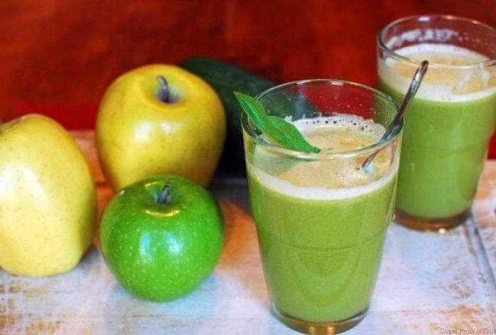 Mélange de pommes vertes et rouges recette