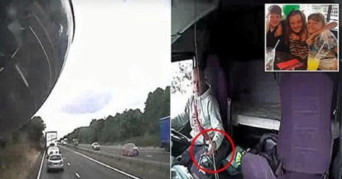Il tue 3 enfants sur l'autoroute