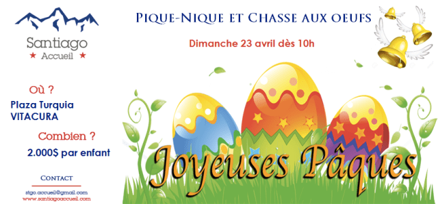 chasse aux oeufs paques