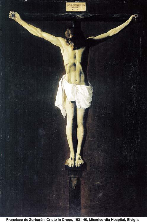 The Crucifixion by Zurbaran
