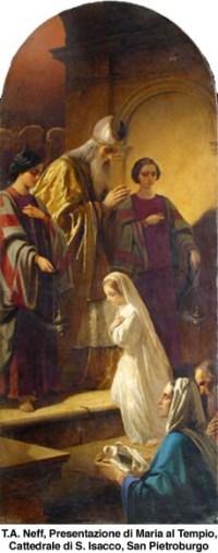 Darovanje device Marije