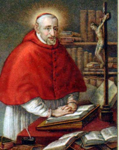 Roberto Francisco Rômulo Belarmino veio ao mundo no dia 4 de outubro de 1542,