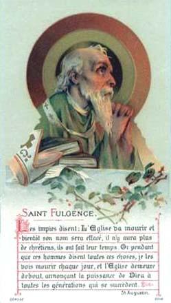 sveti Fulgencij iz Rusp - škof