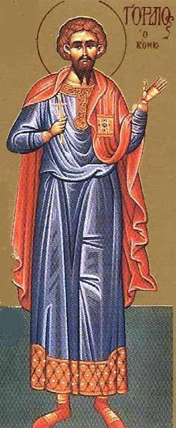 sveti Gordij - vojak, puščavnik in mučenec