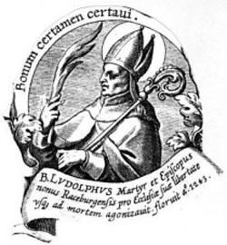 sveti Ludolf Racenburški - škof in mučenec