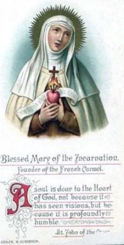 Marija od Učlovečenja (Avrillot)