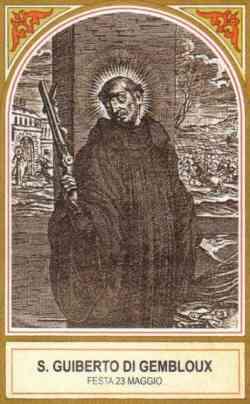 sveti Gibert - menih