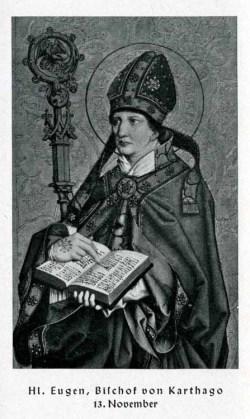 sveti Evgenij - škof