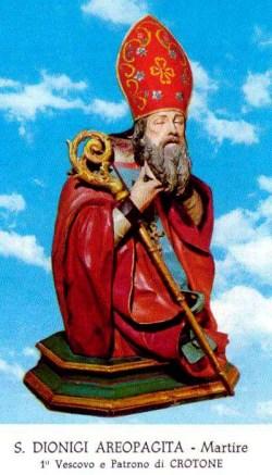 sveti Dionizij Areopagit - škof in mučenec