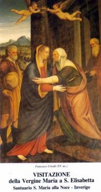 Marija obišče Elizabeto