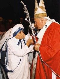 Mati Terezija & Janez Pavel II.
