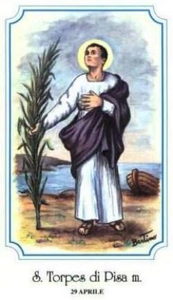sveti Torpet - mučenec